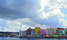 The harbor in the capital city of Curaçao, Willemstad.