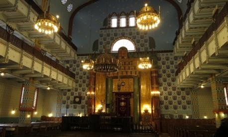 Interior of the Orthodox Synagogue