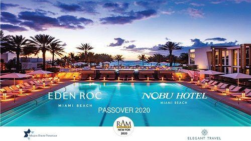 Pesach at the Eden Roc Miami Beach with Elegant Travel