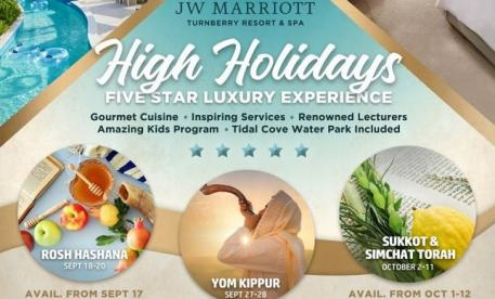 Kosher Holiday Resorts Yom Kippur Program JW Turnberry Miami