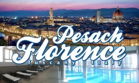 Glatt kosher Pesach resort in Florence, Tuscany, Italy with Live613
