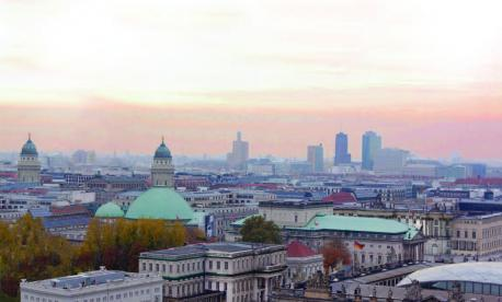 The Berlin skyline