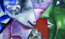 Chagall's work in the Metropolitan Museum of Art in New York