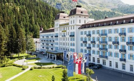 Kosher Summer Vacation 2022 5-Star Luxury at The Grand Hotel Des Bains– St.Moritz Switzerland with Arieh Wagner.