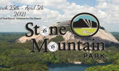 Passover Programs 2021 in Stone Mountain, Georgia with Passover Getaways
