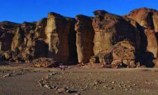 King Solomon's Pillars in the Timna Desert